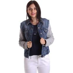 Abbigliamento Donna Giacche in jeans Liu Jo U17064D0219 Giacca Donna Blu Blu
