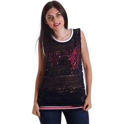 Abbigliamento Donna Top / Blusa Liu Jo T17140J9141 Canotta Donna Blu Blu