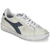 Scarpe Sneakers basse Diadora GAME L LOW WAXED Bianco / Blu