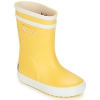 Scarpe Bambino Stivali da pioggia Aigle BABY FLAC Giallo