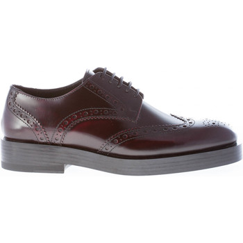 Scarpe Donna Derby Strike Firenze Scarpa derby in pelle BORDEAUX coda di rondine BORDEAUX