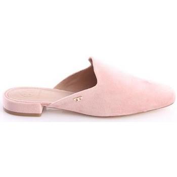Scarpe Donna Zoccoli Tory Burch PANTOFOLE  IN CAMOSCIO ROSA Pink