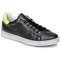 Scarpe Unisex bambino Sneakers basse Young Elegant People EDENI Nero / Giallo / Fluo