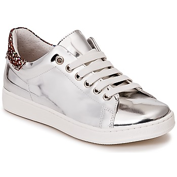 Scarpe Bambina Sneakers basse Young Elegant People EDENIL Argento