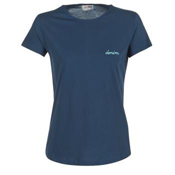Abbigliamento Donna T-shirt maniche corte Yurban HOULOU Marine