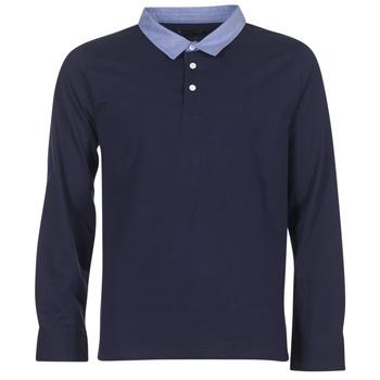Abbigliamento Uomo Polo maniche lunghe Casual Attitude HEYA Blu
