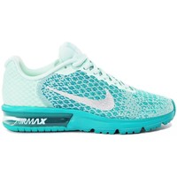 Scarpe Bambino Sneakers basse Nike Air Max Sequent 2 GS Verde
