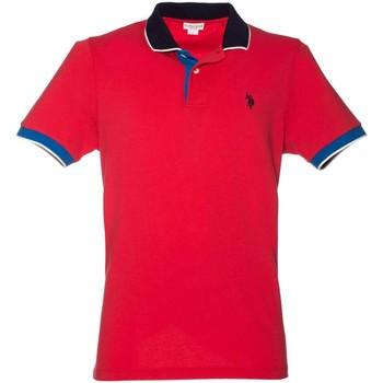 Abbigliamento Uomo Polo maniche corte U.S Polo Assn. U.s. polo assn. 38237 50336 Polo Uomo Rosso Rosso