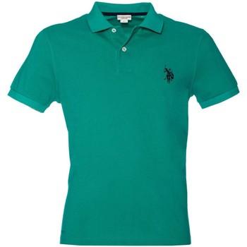Abbigliamento Uomo Polo maniche corte U.S Polo Assn. U.s. polo assn. 38227 41029 Polo Uomo Verde Verde