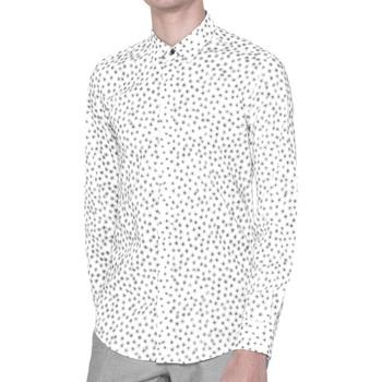Abbigliamento Uomo Camicie maniche lunghe Antony Morato MMSL00384 FA430264 Camicia Uomo Bianco Bianco