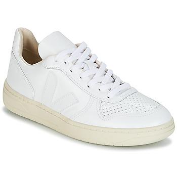 Scarpe Sneakers basse Veja V-10 Bianco