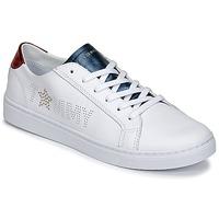 Scarpe Donna Sneakers basse Tommy Hilfiger VENUS 22 Bianco / Blu / Rosso
