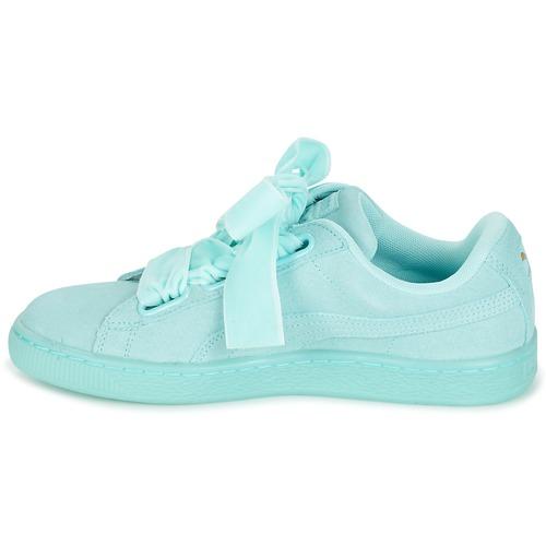 BluPastello Reset Heart Wn's Suede Scarpe Consegna Donna 4500 Sneakers Puma Basse Gratuita hrCxtsQd