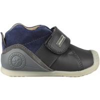 Scarpe Unisex bambino Sneakers alte Biomecanics  MARINO