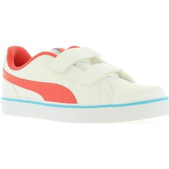 Scarpe Unisex bambino Sneakers basse Puma 362948 COURT Blanco