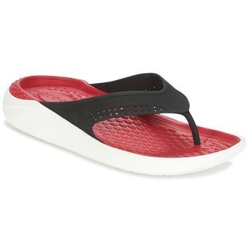 Scarpe Infradito Crocs LITERIDE FLIP Nero / Rosso
