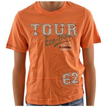 Abbigliamento Bambino T-shirt maniche corte Diadora T-shirt multicolore