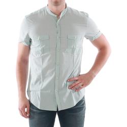 Abbigliamento Uomo Camicie maniche corte Antony Morato AMT05211 Verde claro