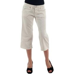 Abbigliamento Donna Pinocchietto Fornarina FOR00006 Blanco roto