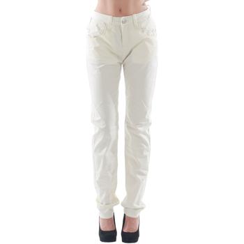 Abbigliamento Donna Pantaloni 5 tasche Fornarina FOR08007 Blanco roto