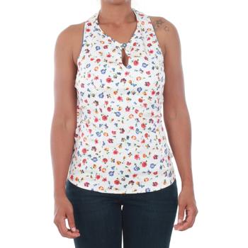 Abbigliamento Donna Top / Blusa Fornarina MORGANE_MULTICOLOR Blanco