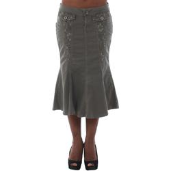 Abbigliamento Donna Gonne Fornarina DUNDEE_SMOG Verde