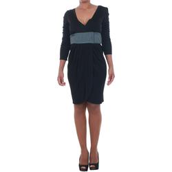 Abbigliamento Donna Abiti corti Silvian Heach SIL13565 Negro