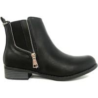 Scarpe Donna Stivaletti Cassis Côte d'Azur LUTY  Boots Noir a talons Nero