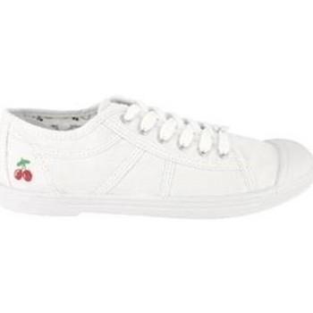Scarpe Donna Sneakers basse Le Temps des Cerises Basket Basic 02 White Bianco