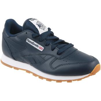 Scarpe Unisex bambino Sneakers basse Reebok Sport Classic Leather Bleu marine