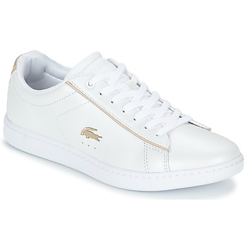 Scarpe Donna Sneakers basse Lacoste CARNABY EVO 118 6 Bianco