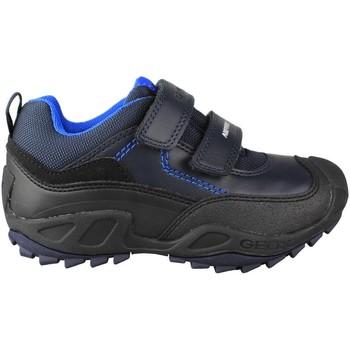 Scarpe Unisex bambino Sneakers basse Geox JN SAVAGE DOBLE AZUL