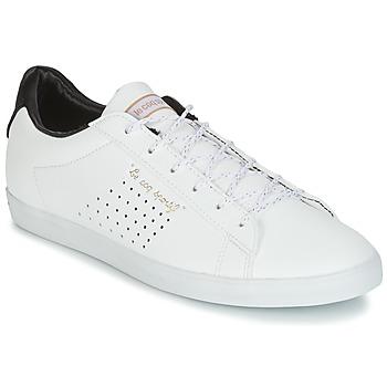 Scarpe Donna Sneakers basse Le Coq Sportif AGATE LO S LEA/SATIN Bianco / Nero