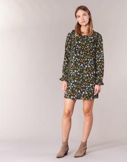 Abbigliamento Donna Abiti corti Betty London HOTU Nero / Multicolore