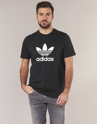 Abbigliamento Uomo T-shirt maniche corte adidas Originals TREFOIL T SHIRT Nero