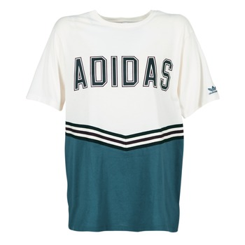 Abbigliamento Donna T-shirt maniche corte adidas Originals ADIBREAK SS TEE Bianco / Marine