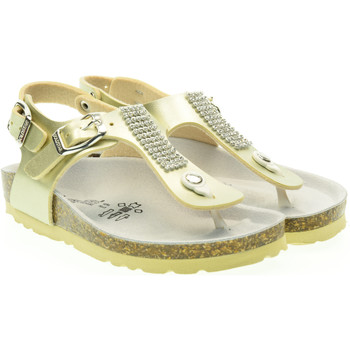 Scarpe Bambino Sandali Gold Star junior sandali infradito 1879k Platino