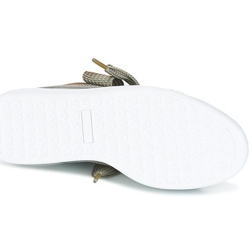 Puma basse BASKET HEART PATENT W'S Grigio  Scarpe Sneakers basse Puma Donna 66,50 ae5ab6