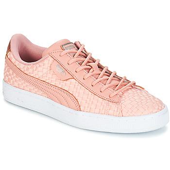 Scarpe Donna Sneakers basse Puma BASKET SATIN EP WN'S Peche