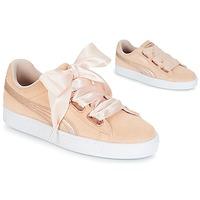 Scarpe Donna Sneakers basse Puma SUEDE HEART LUNALUX W'S Rosa