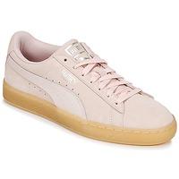 Scarpe Donna Sneakers basse Puma SUEDE CLASSIC BUBBLE W'S Rosa