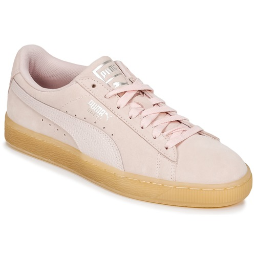 Suede Sneakers Rosa Puma W's Basse Bubble Classic DH29YWEI