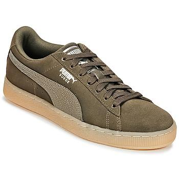 Scarpe Donna Sneakers basse Puma SUEDE CLASSIC BUBBLE W'S Nero / Grigio