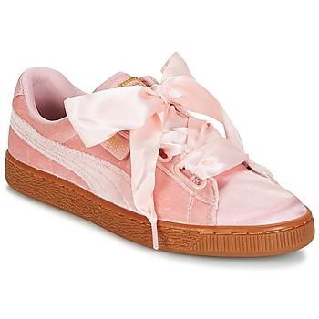 Scarpe Donna Sneakers basse Puma BASKET HEART VS W'N Rosa