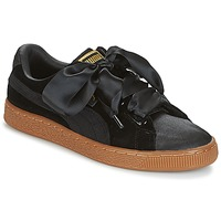 Scarpe Donna Sneakers basse Puma BASKET HEART VS W'N Nero