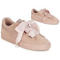 Scarpe Donna Sneakers basse Puma W SUEDE HEART EP Rosa