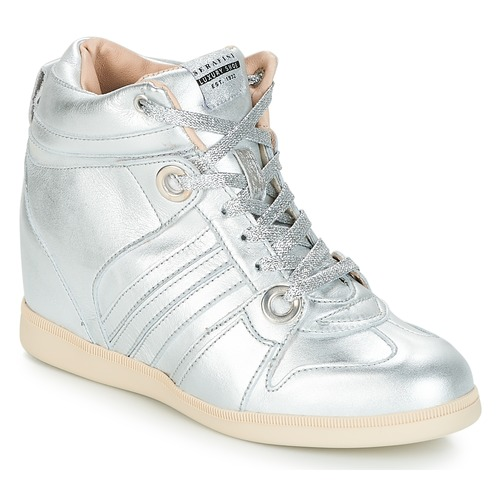 Serafini MANHATTAN Argento  Scarpe Sneakers alte Donna 209,30