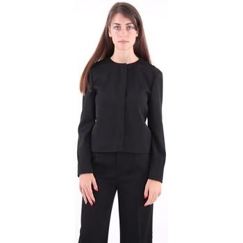 Abbigliamento Donna Giacche / Blazer Strenesse GIACCA SENZA COLLO NERA Black