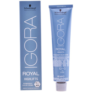 Bellezza Accessori per capelli Schwarzkopf Igora Royal 10-0  60 ml