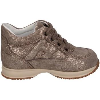 Scarpe Bambina Sneakers basse Hogan Junior HXT09200010DTXC407 Sneakers Bambina Oro Oro
